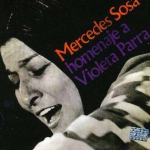 """Mercedes Sosa """"Homenaje a Violeta Parra"""""""