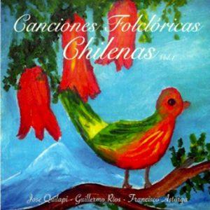 """José Quilapi """"Canciones Folclóricas chilenas 1"""""""