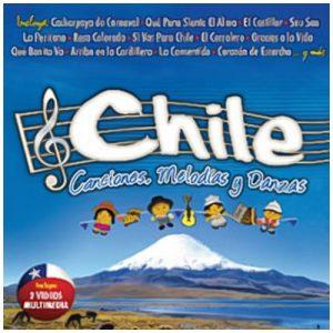 """Chile """"Canciones,melodías y danzas"""""""