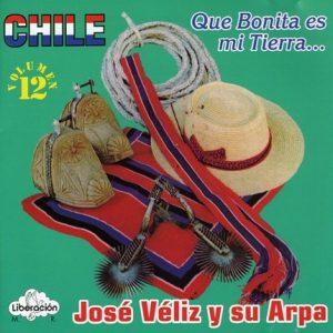 """José Véliz y su arpe """"Que bonita es mi tierra…"""""""