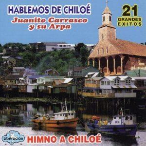 """Juanito Carrasco y su arpa """"Hablemos de Chiloé"""""""